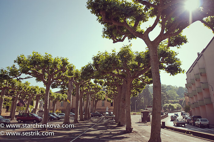 города Франции Сарла