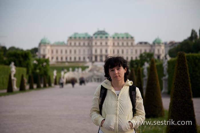Музеи Вены: Бельведер