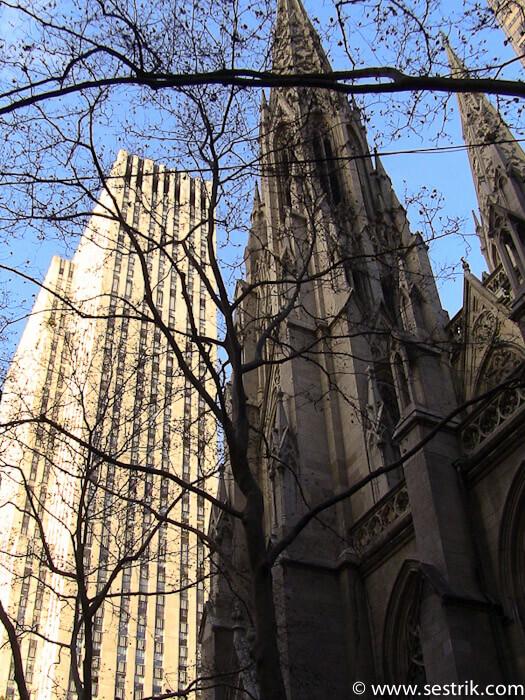 Фотографии Нью-Йорка St.Patrick's Cathedral