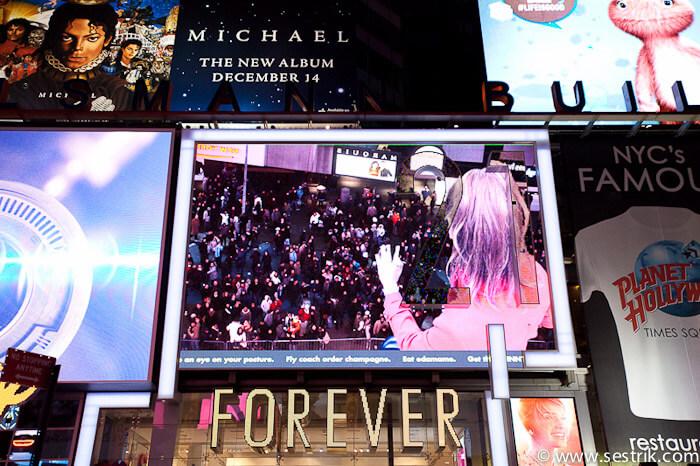 Улицы Нью-Йорка - Бродвей и Time Square