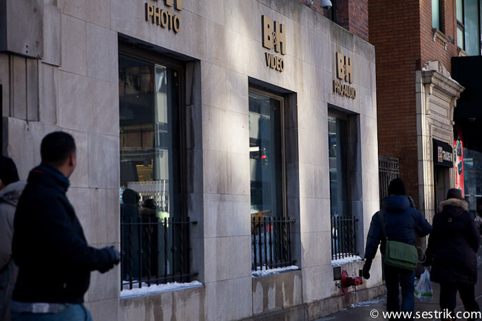Магазины Нью-Йорка B&H photo