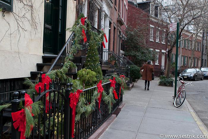 Фотографии Нью-Йорка Улицы Нью-Йорка Гринвидж Вилидж