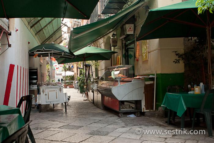Палермо Италия ресторан