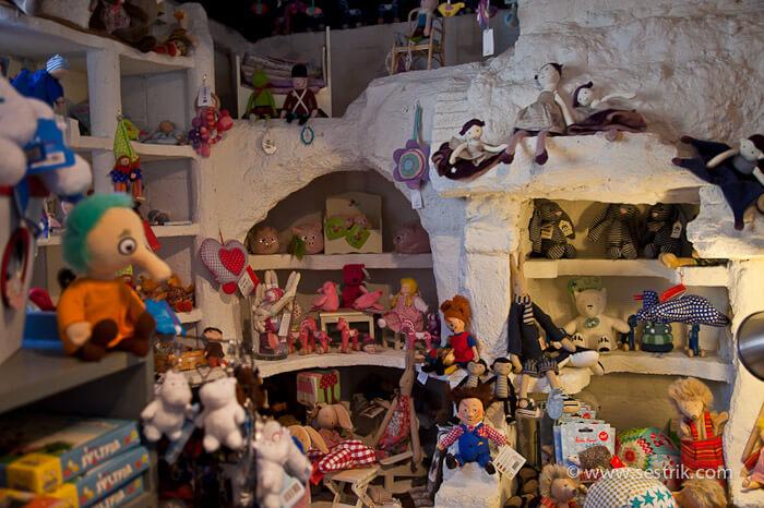 Магазин игрушек в Порвоо