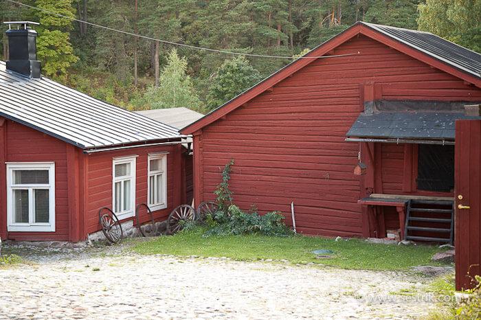 Дома на набережной в Порвоо