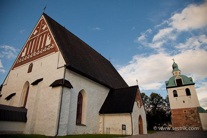 Кафедральный собор в Порвоо